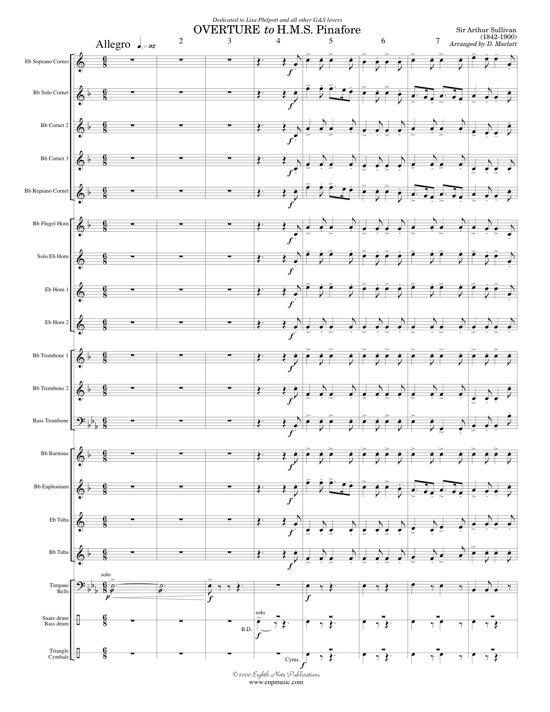 Overture to HMS Pinafore - Arthur Sullivan