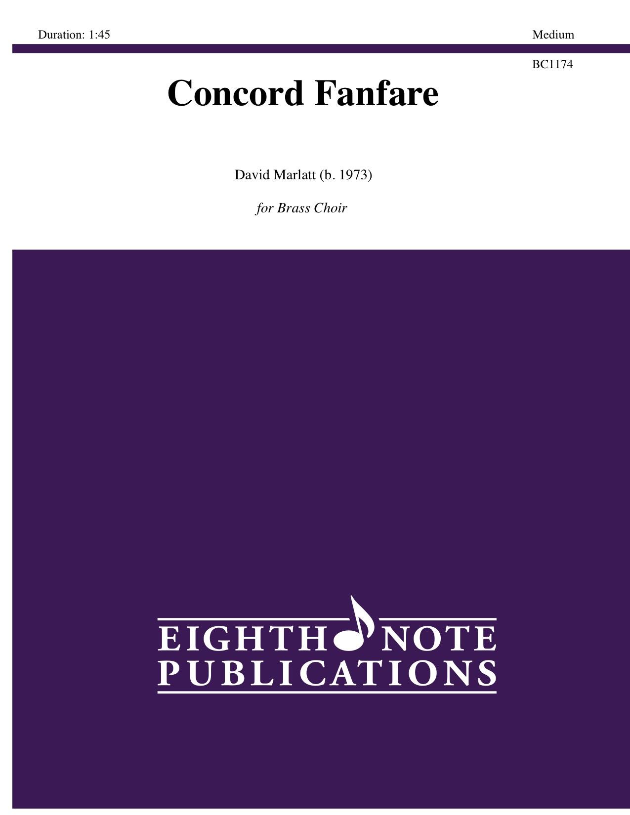 Concord Fanfare - David Marlatt