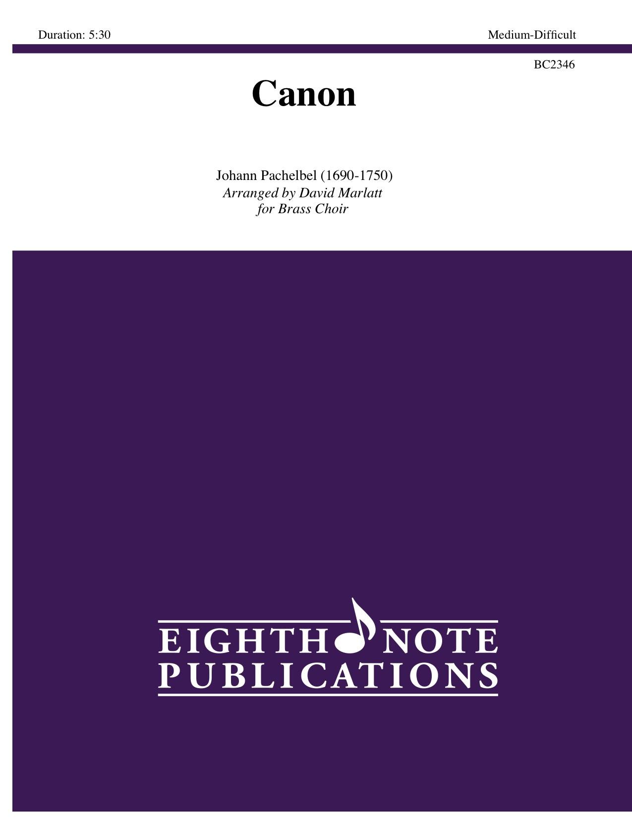 Canon - Johann Pachelbel