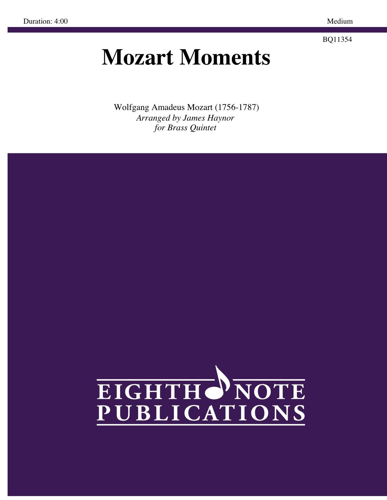 Mozart Moments - Wolfgang Amadeus Mozart