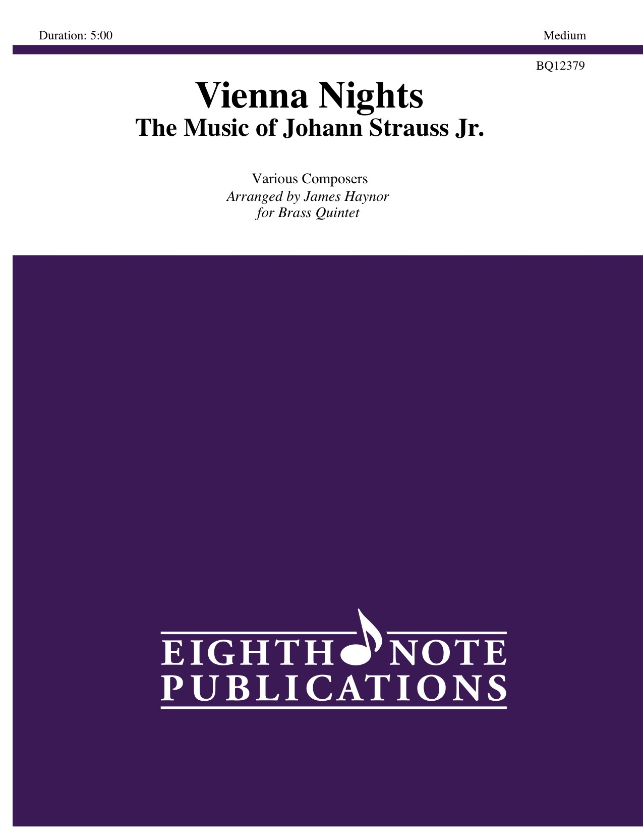 Vienna Nights - The Music of Johann Strauss Jr. - Various Composers