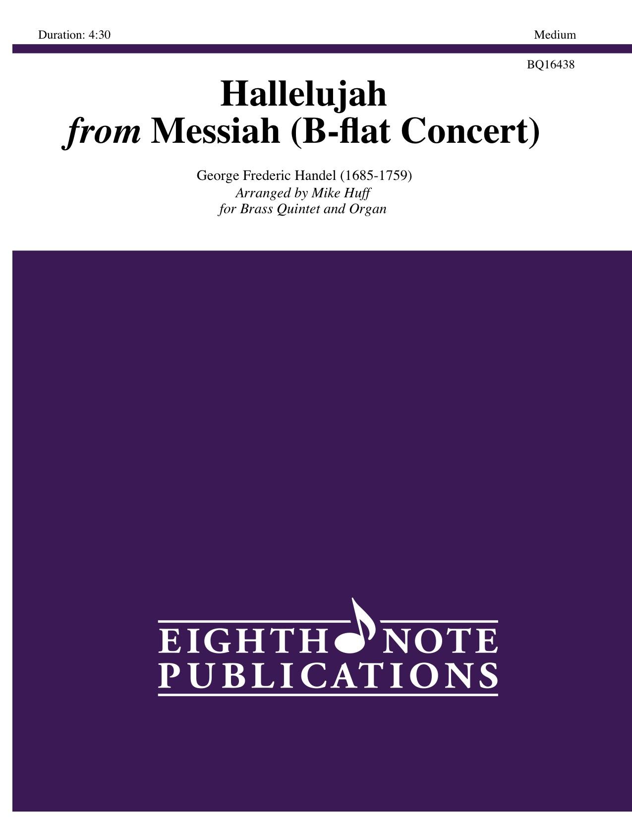 Hallelujah from Messiah - B-flat Concert - George Frederic Handel