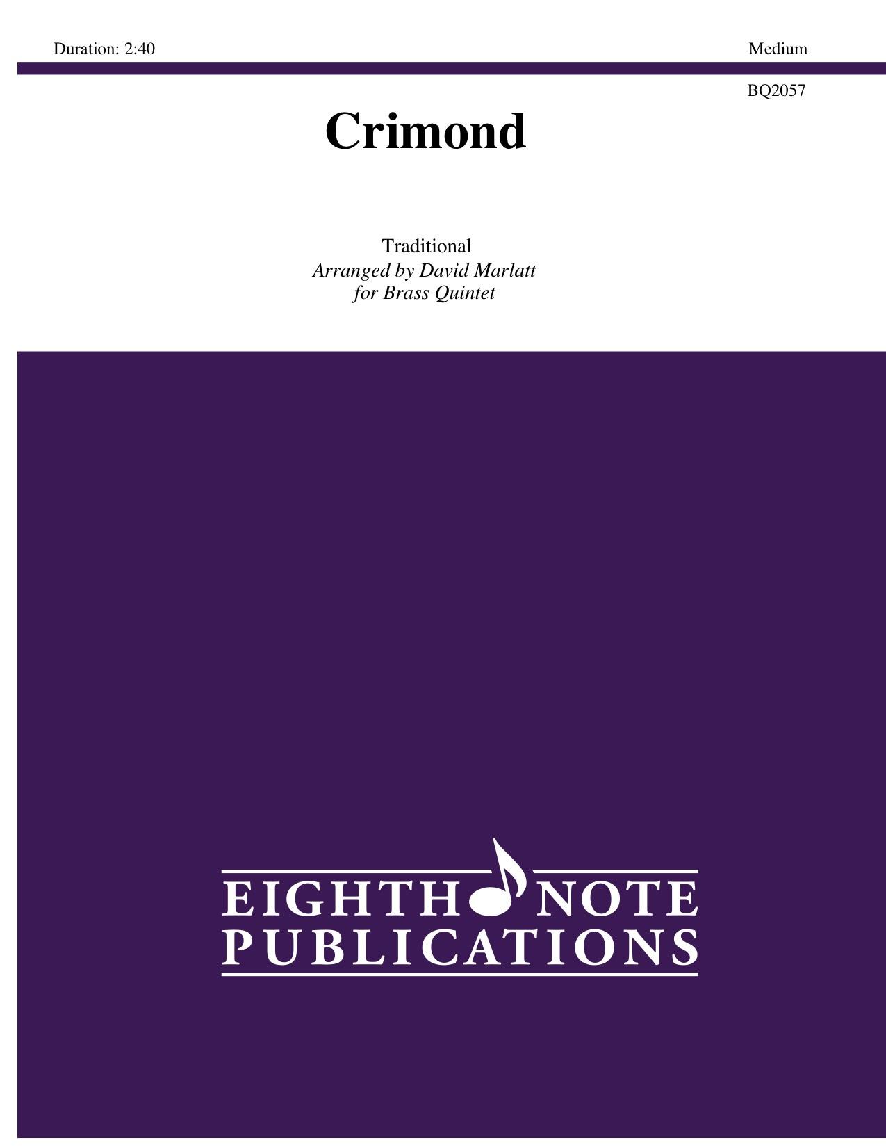 Crimond -  Traditional