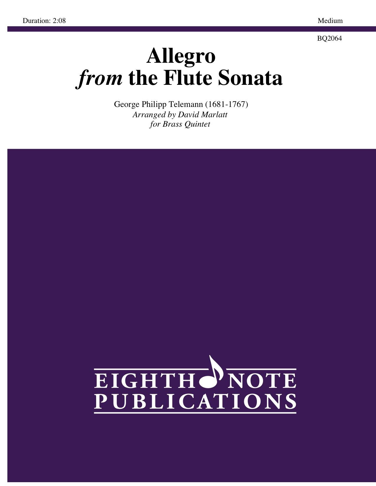 Allegro from the Flute Sonata  - George Philipp Telemann