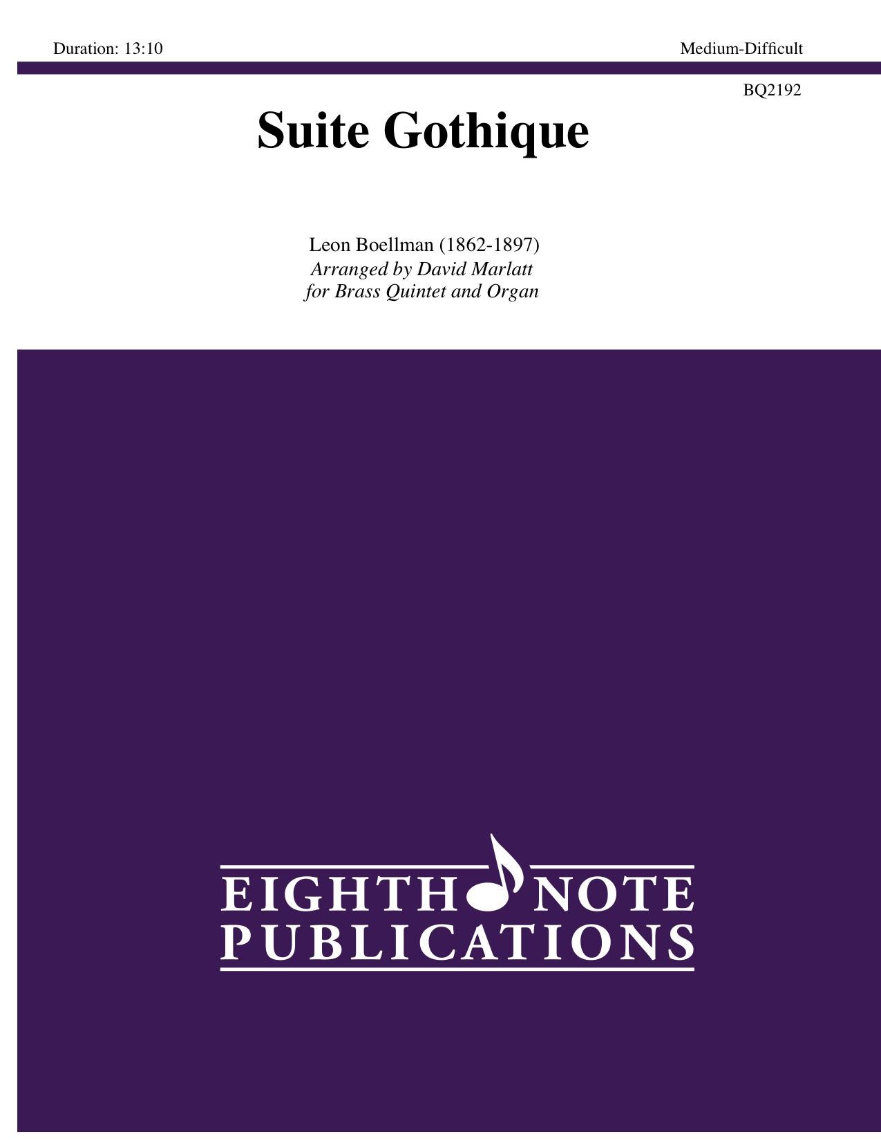 Suite Gothique - Leon Boellman