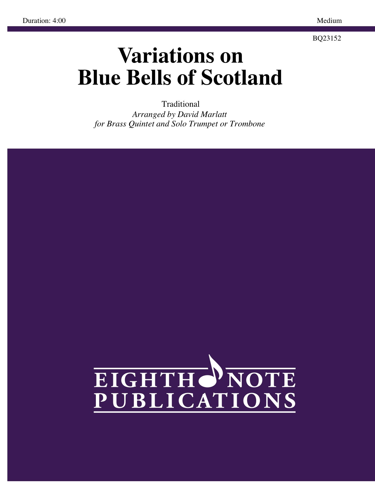 Variations on Blue Bells of Scotland -  Traditional
