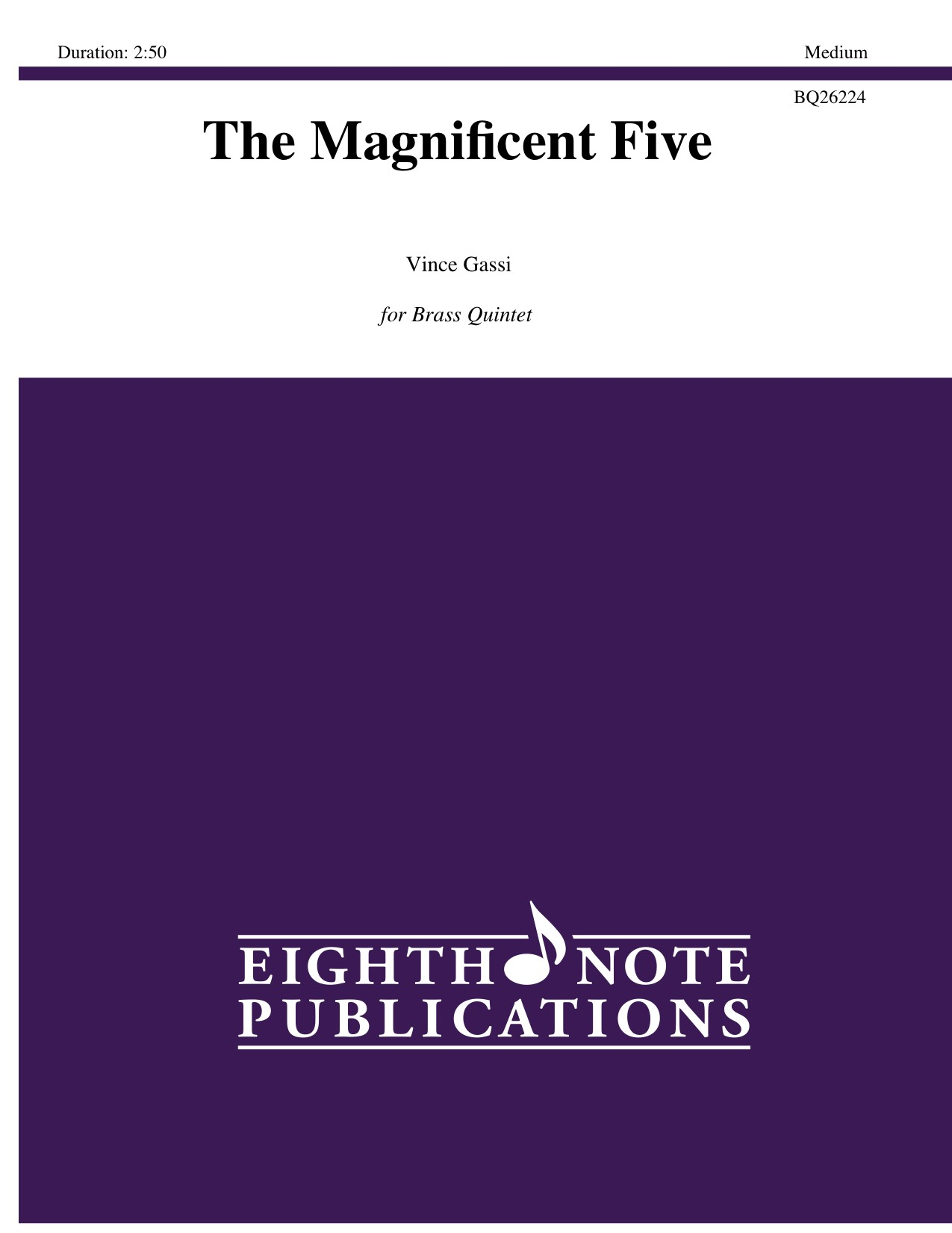 Magnificent Five, The - Vince Gassi