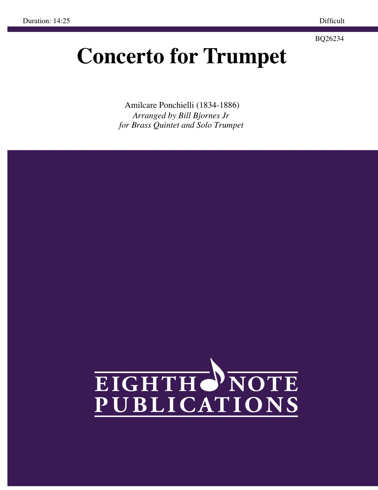 Concerto for Trumpet - Amilcare Ponchielli