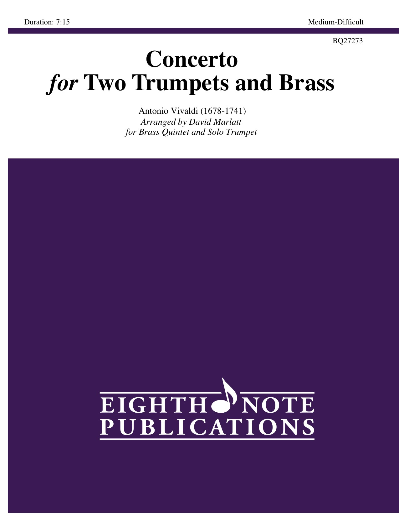 Concerto for Two Trumpets and Brass  - Antonio Vivaldi
