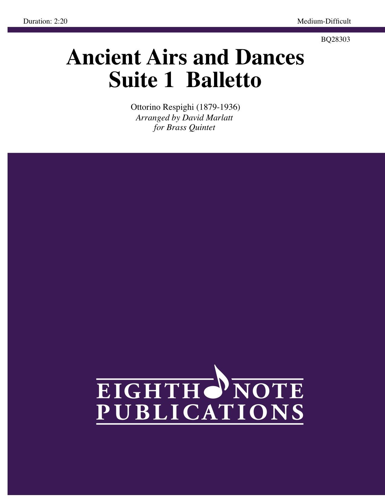 Ancient Airs and Dances - Suite 1  Balletto - Ottorino Respighi