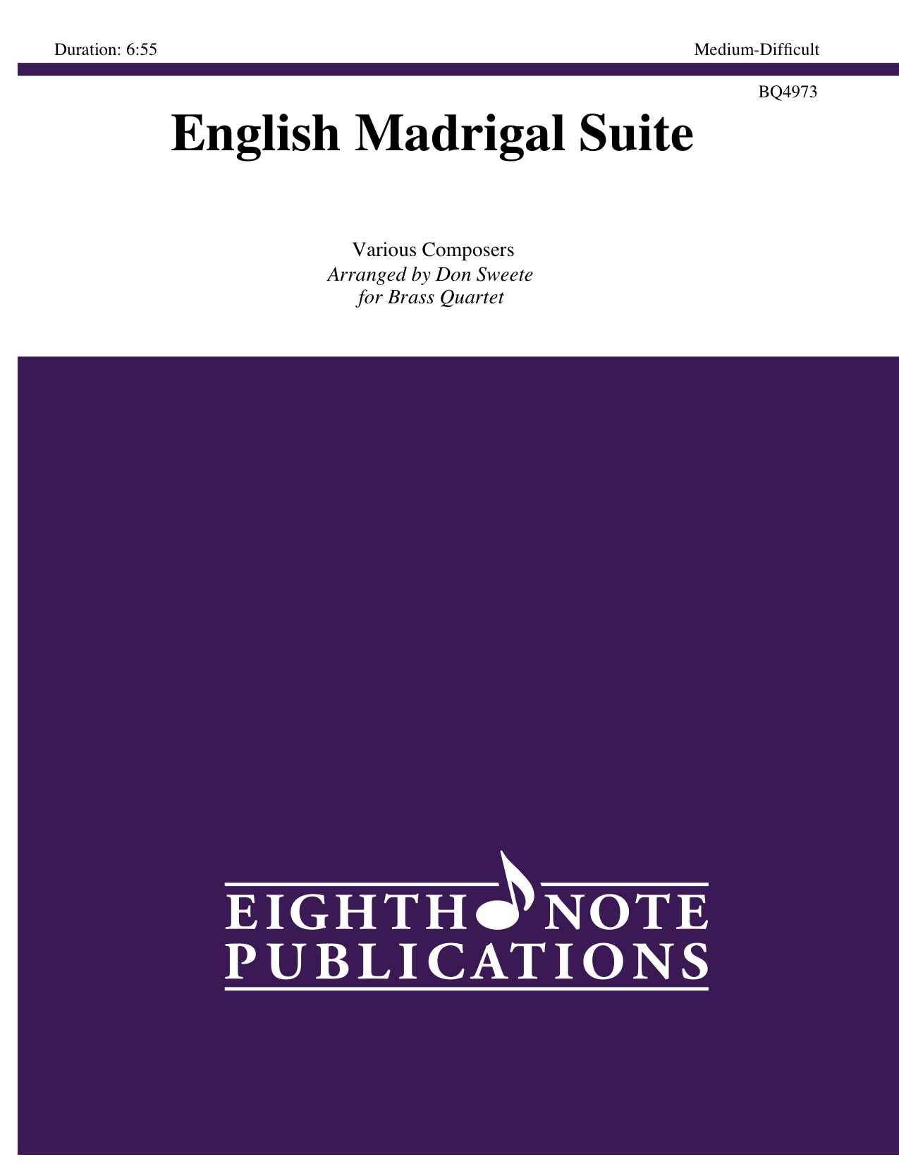 English Madrigal Suite -  Various
