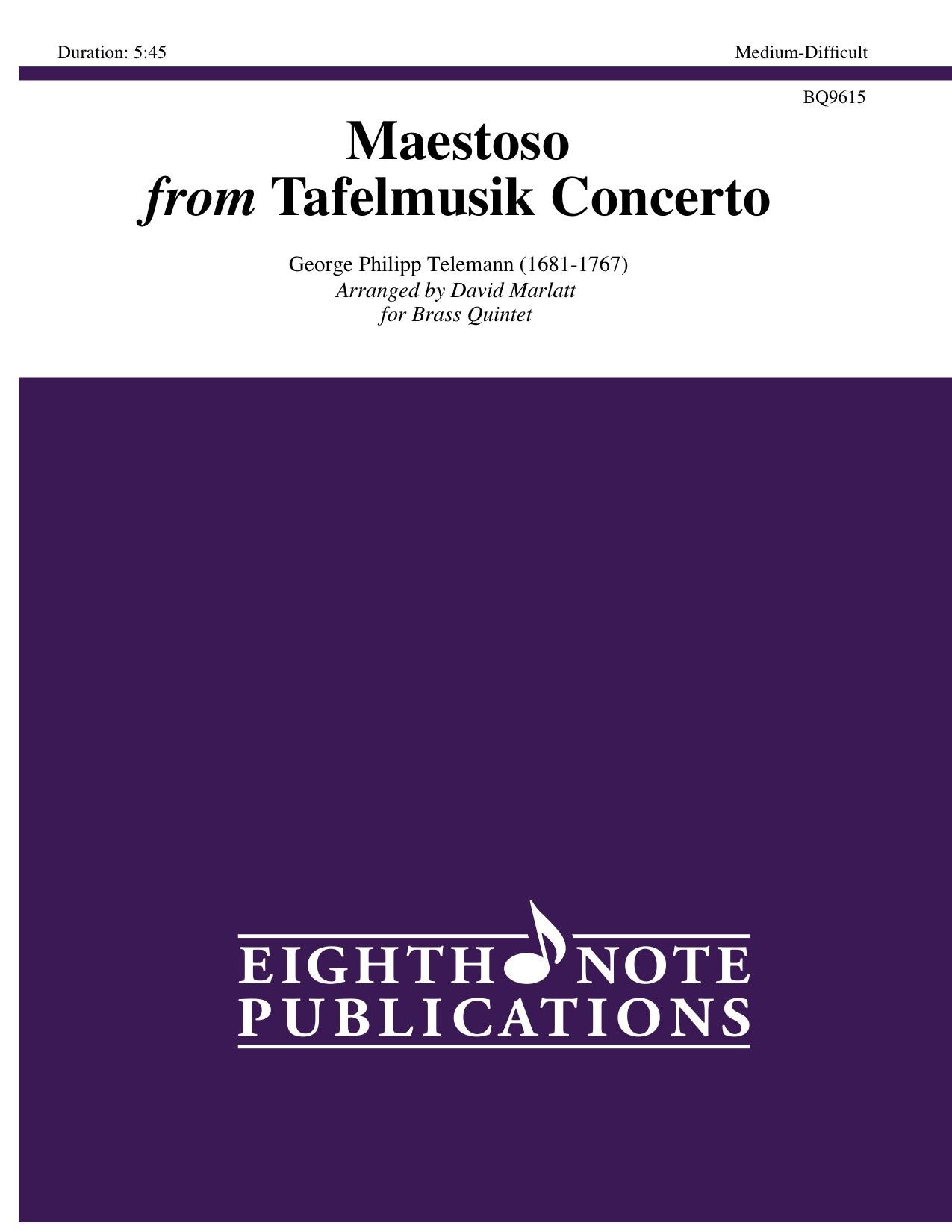 Maestoso from Tafelmusik Concerto - George Philipp Telemann