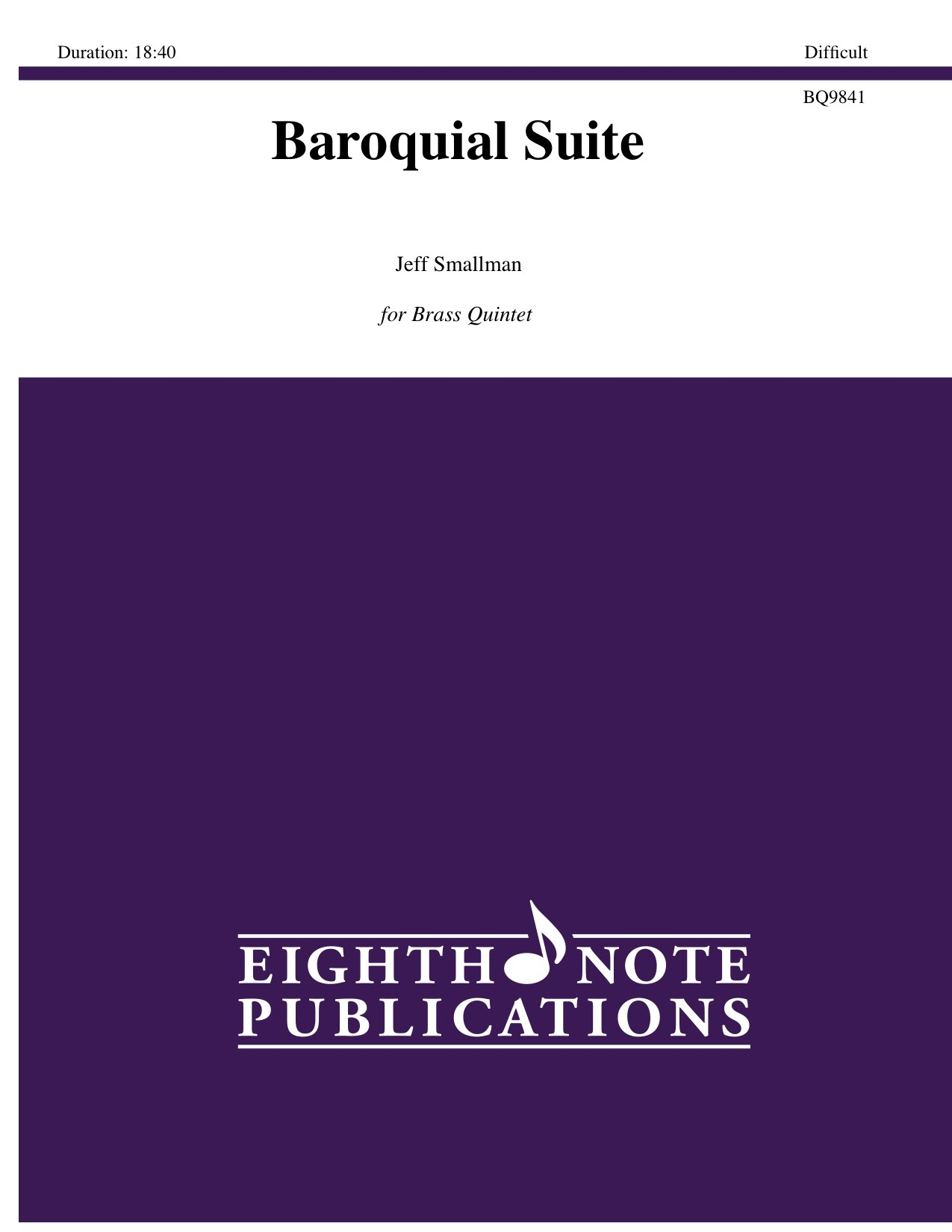 Baroquial Suite - Jeff Smallman