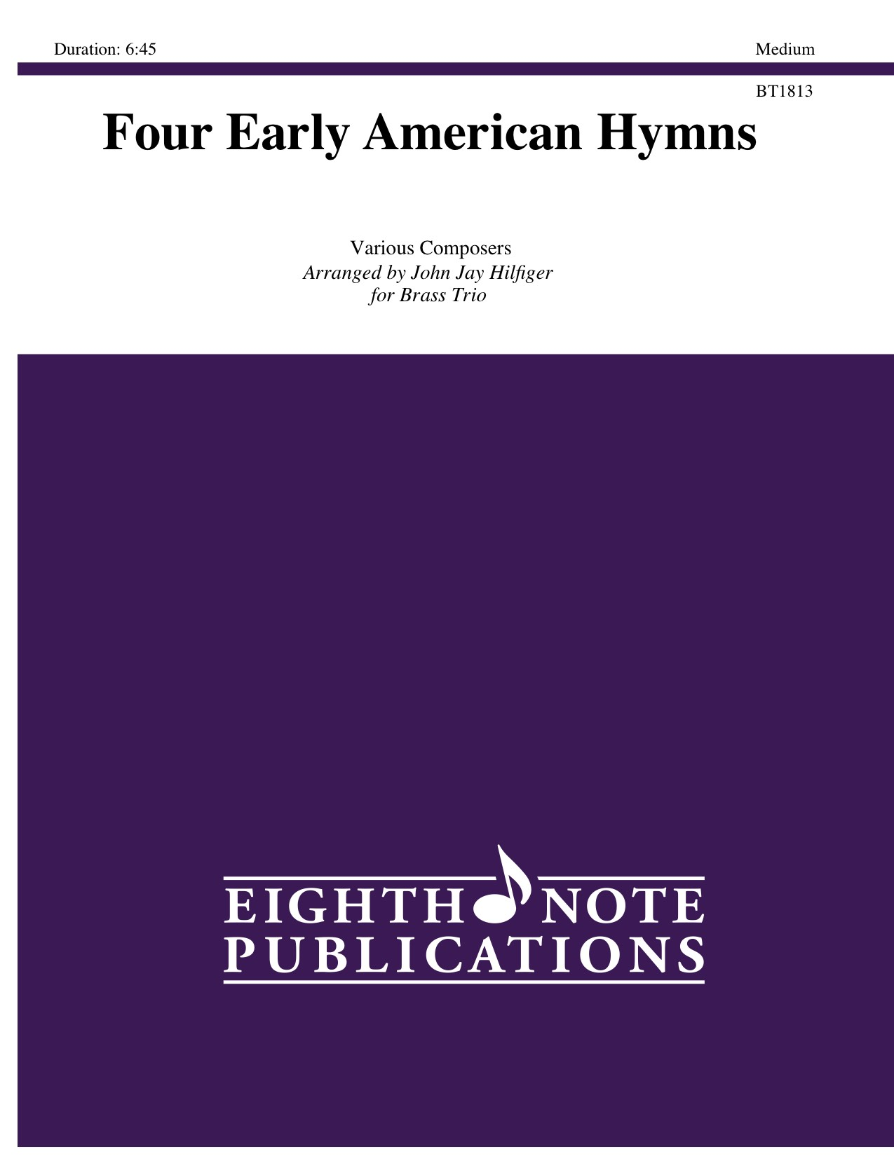 Four Early American Hymns - Various Composers