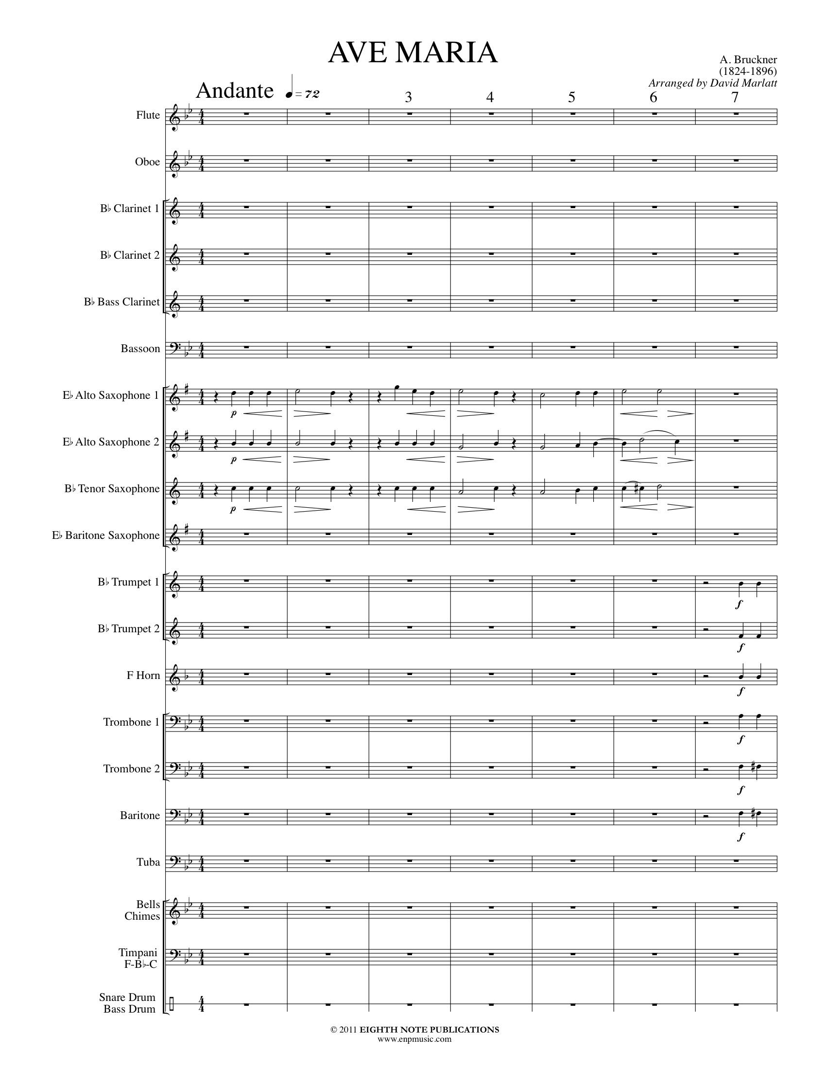 Ave Maria - Anton Bruckner