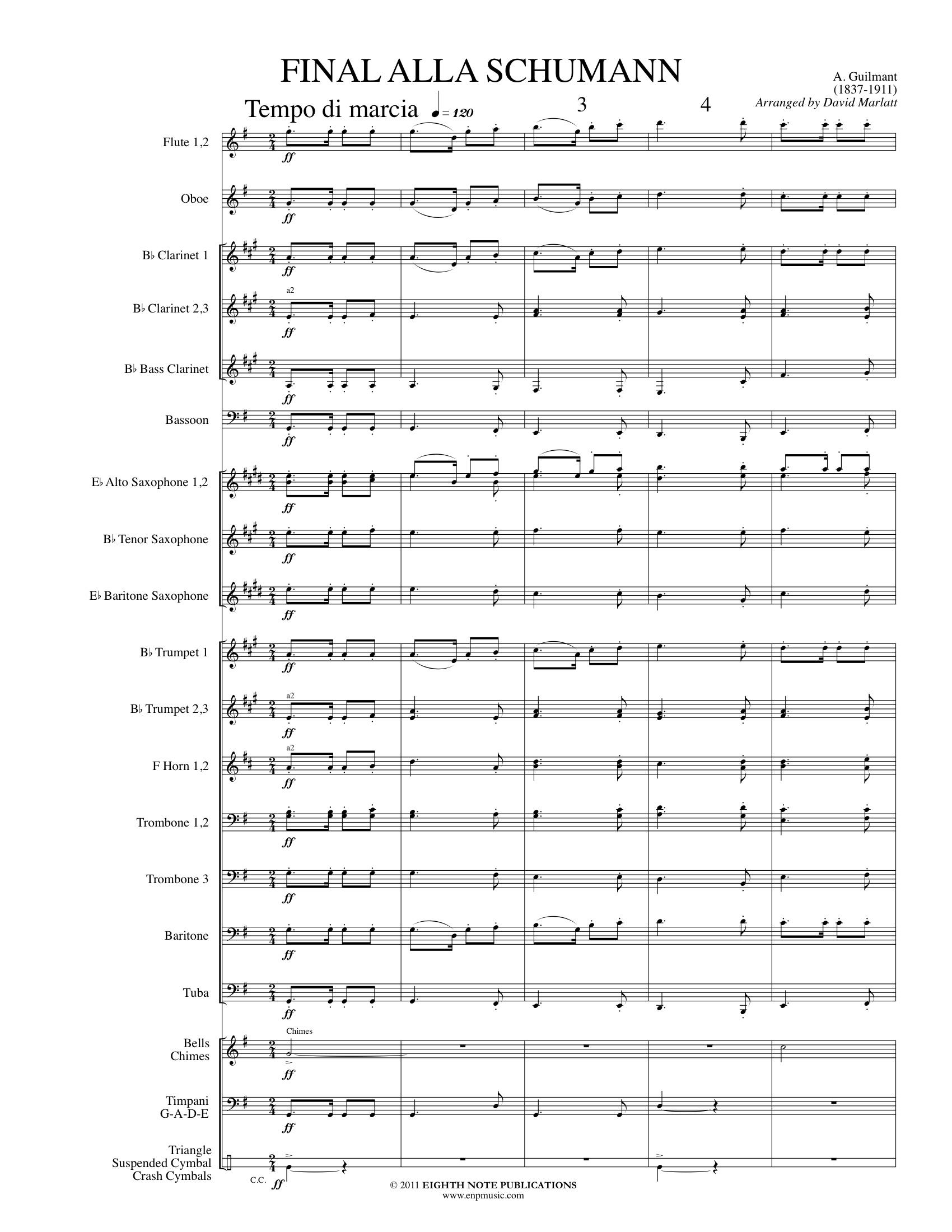 Final alla Schumann - Felix Alexandre Guilmant