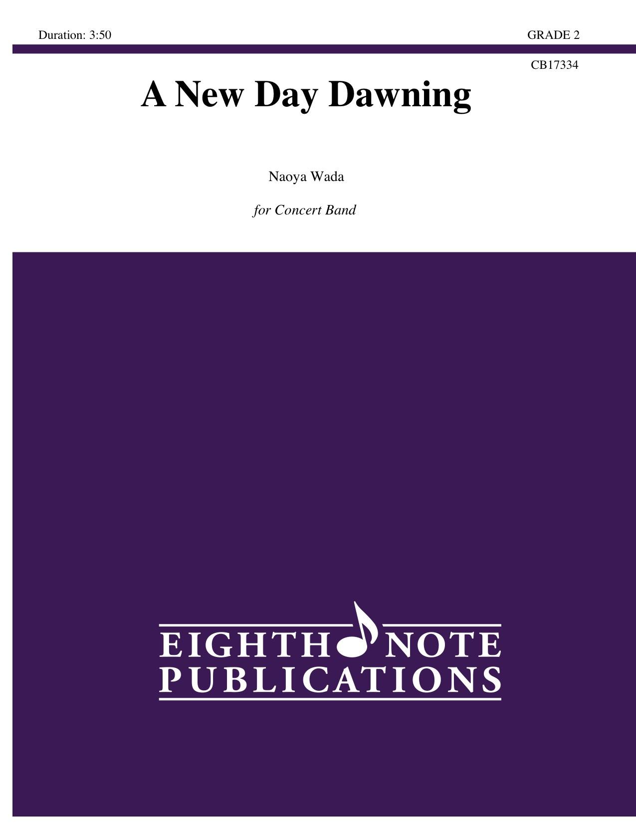 A New Day Dawning - Naoya Wada