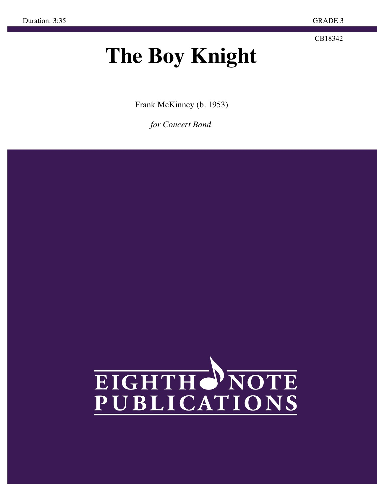 Boy Knight, The - Frank McKinney