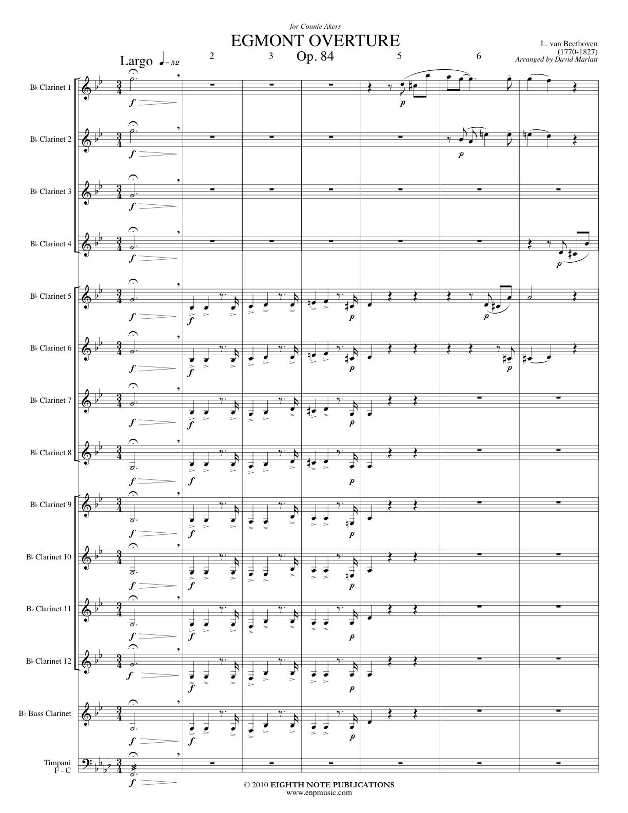 Egmont Overture - Ludwig van Beethoven