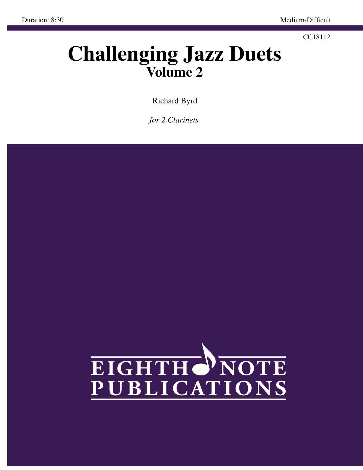Challenging Jazz Duets Volume 2 - William Byrd