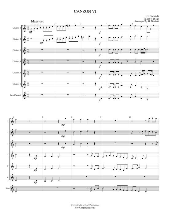 Canzon VI - Giovanni Gabrieli