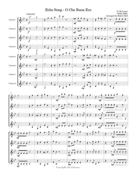 Echo Song - Orlando di Lasso