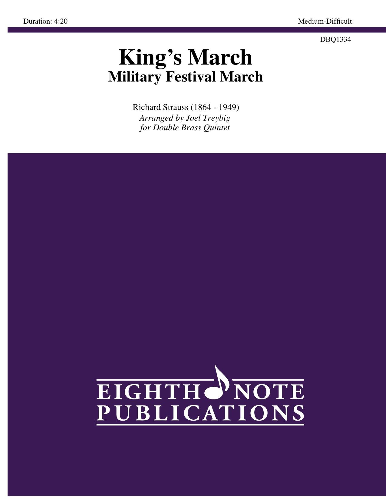 King�s March - Military Festival March - Johann Strauss