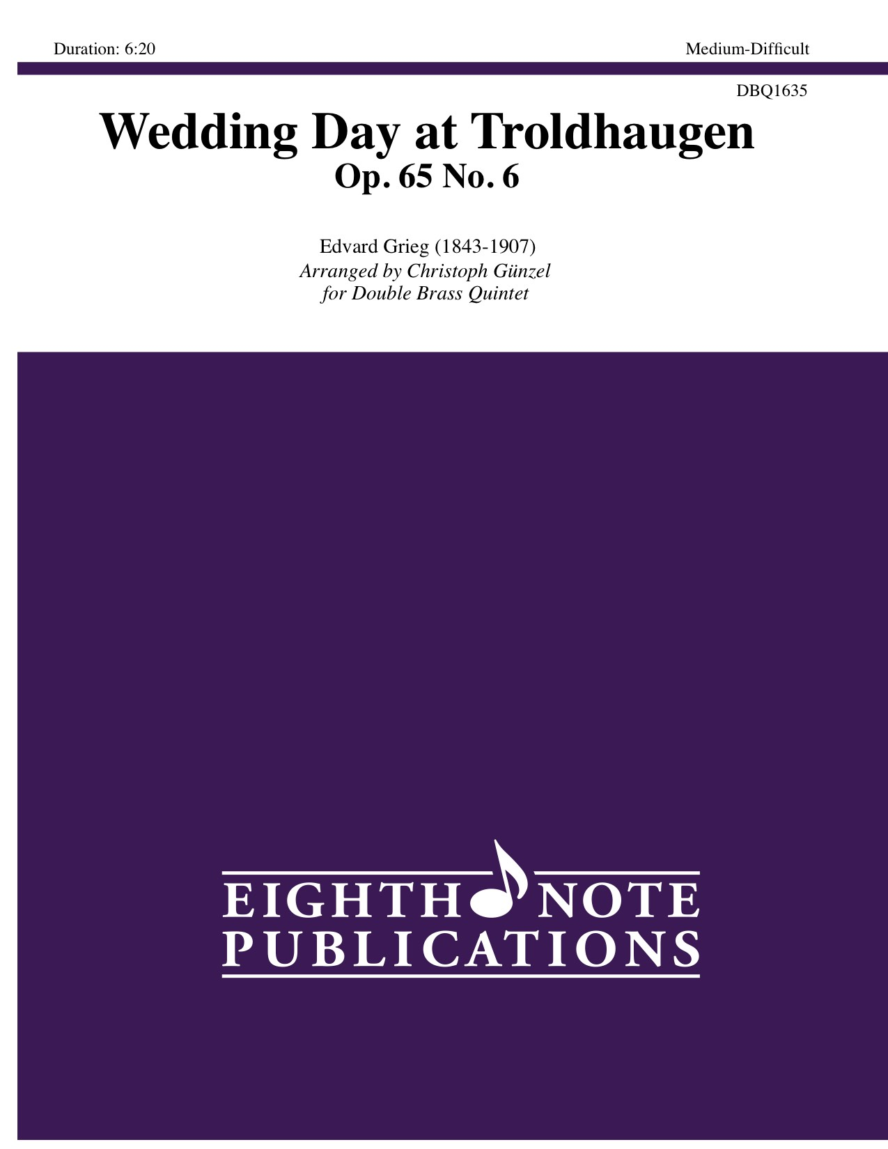 Wedding Day at Troldhaugen - Op. 65 No. 6 - Edvard Grieg