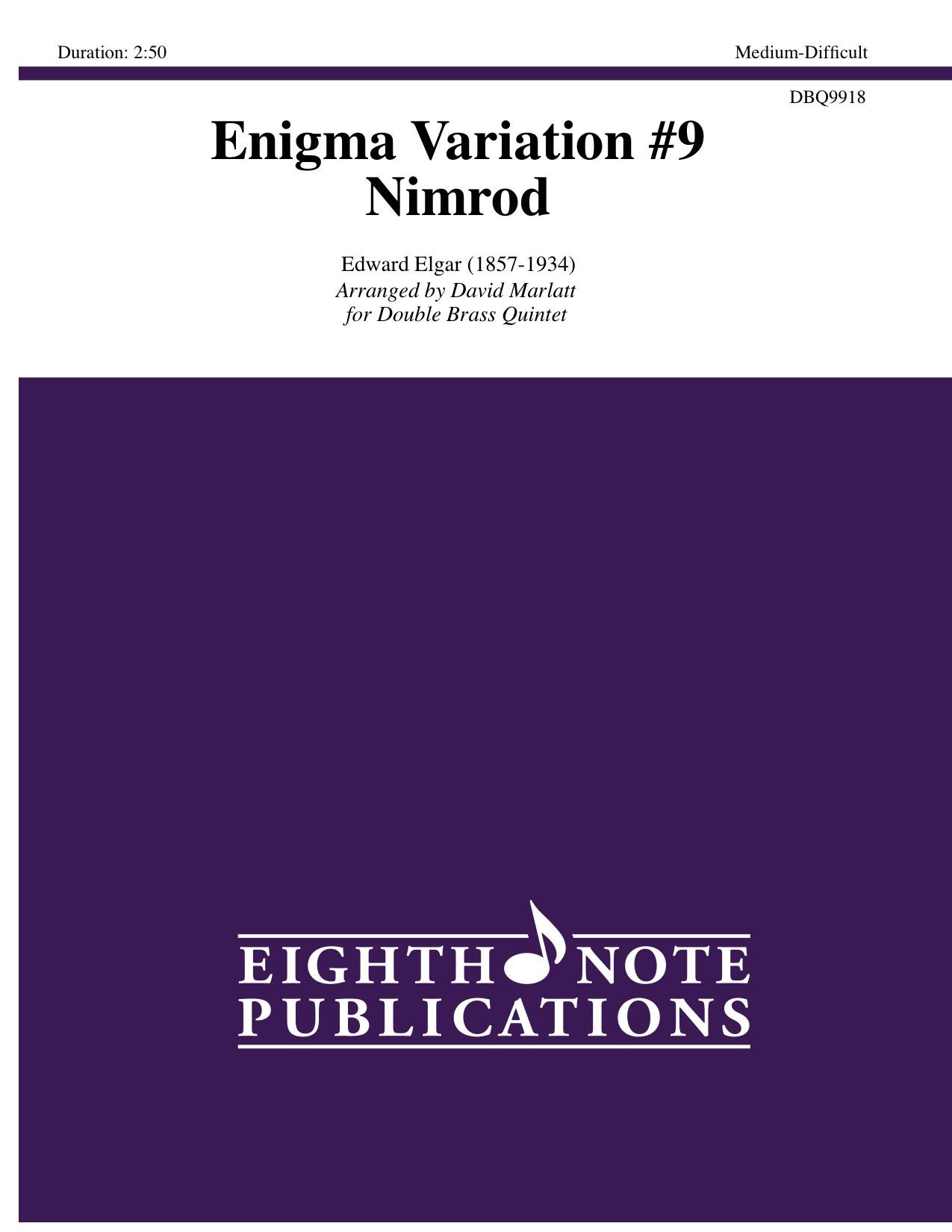 Enigma Variation #9 - Nimrod - Edward Elgar