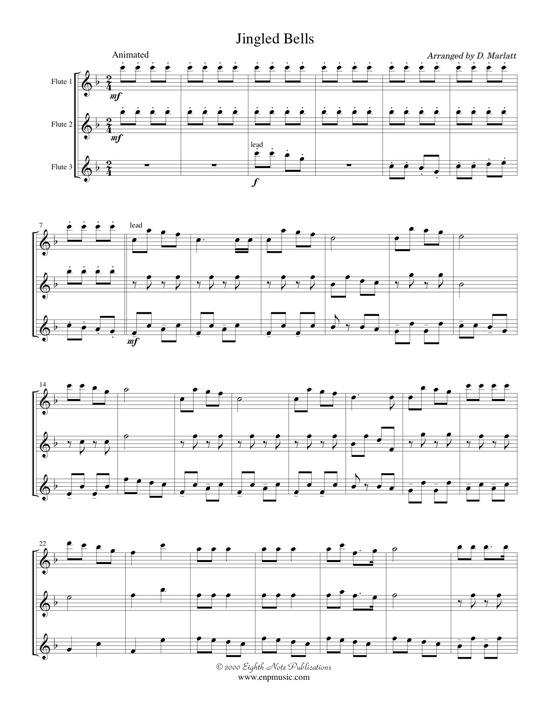 Jingled Bells -  Traditional
