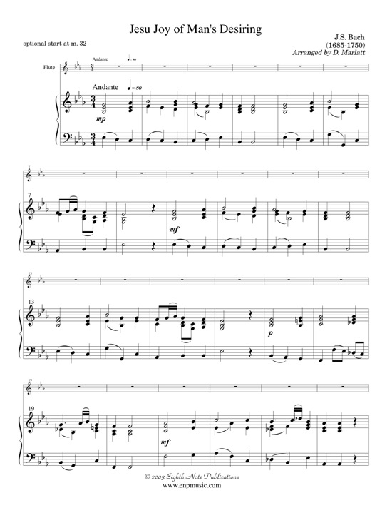 Jesu Joy of Mans Desiring - Johann Sebastian Bach