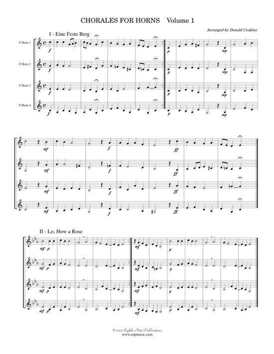 Chorales for Horns -  Various