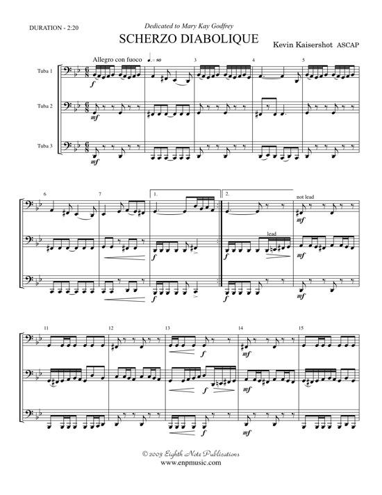 Scherzo Diabolique - Kevin Kaisershot