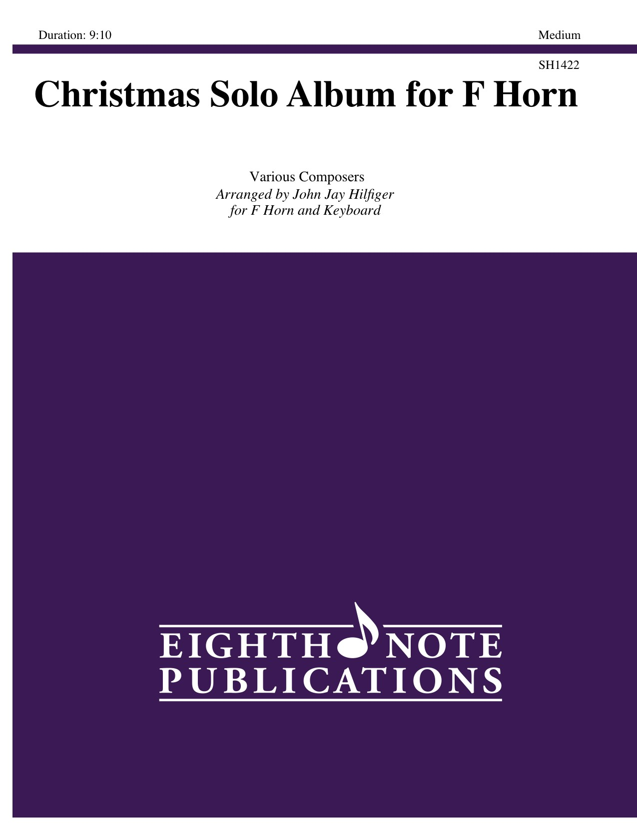 Christmas Solo Album for F Horn - Various Composers