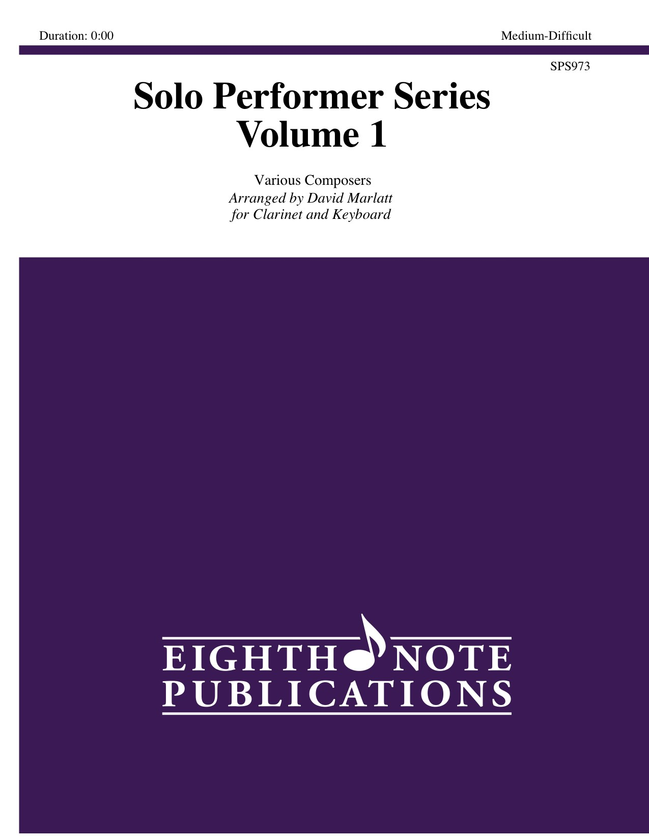 Solo Performer Series - Volume 1 -  Various