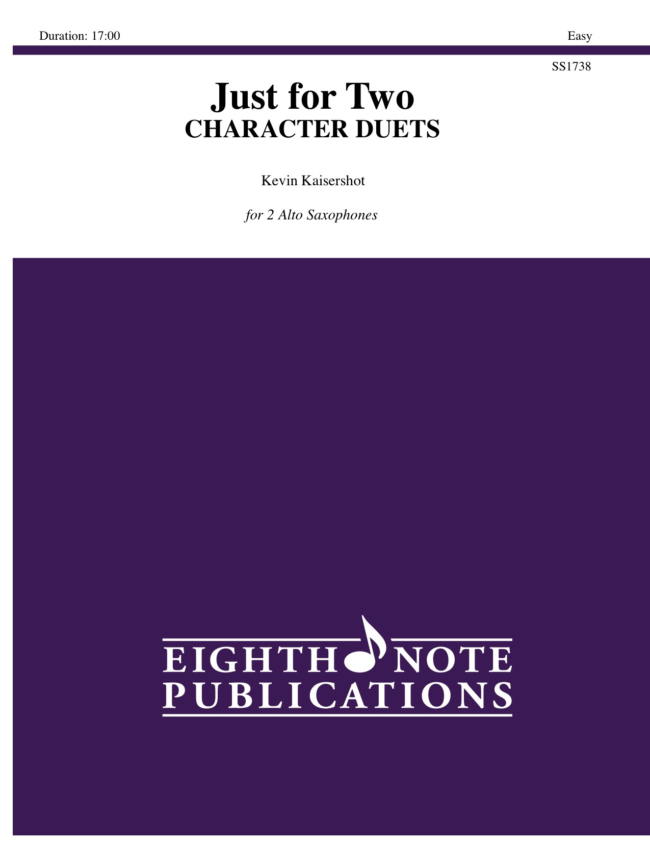 Just for Two - CHARACTER DUETS - Kevin Kaisershot