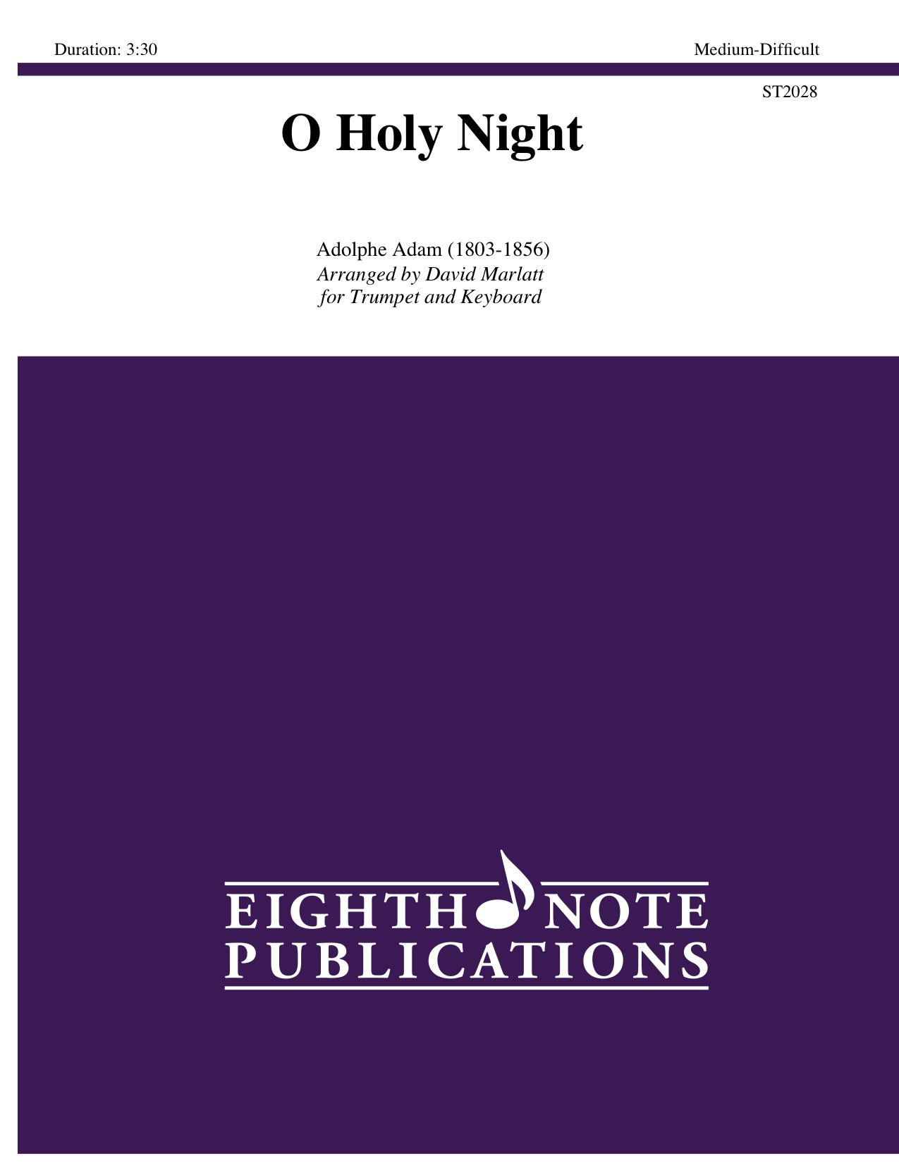 Eighth Note Publications - O Holy Night
