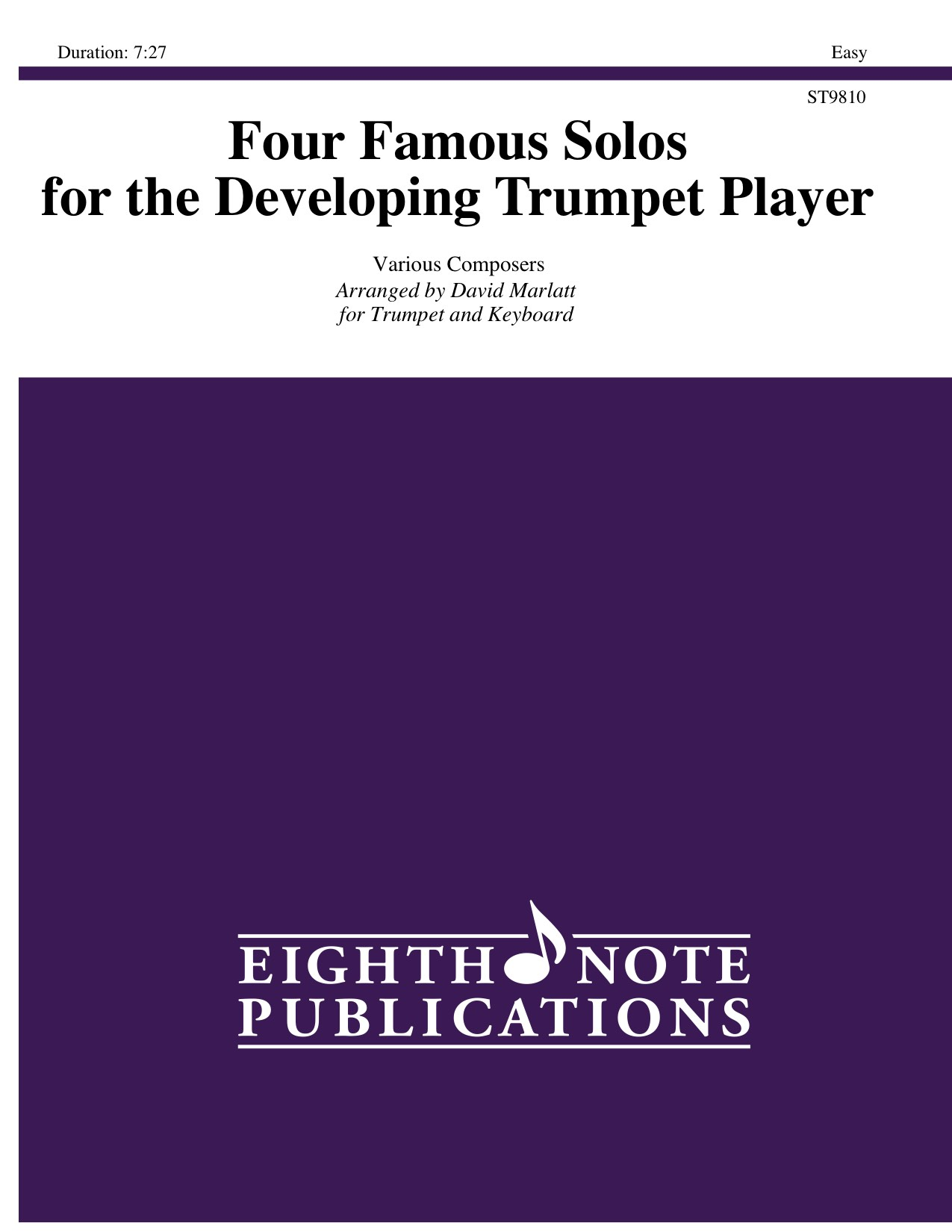 Four Famous Solos for the Developing Trumpet Player -  Various