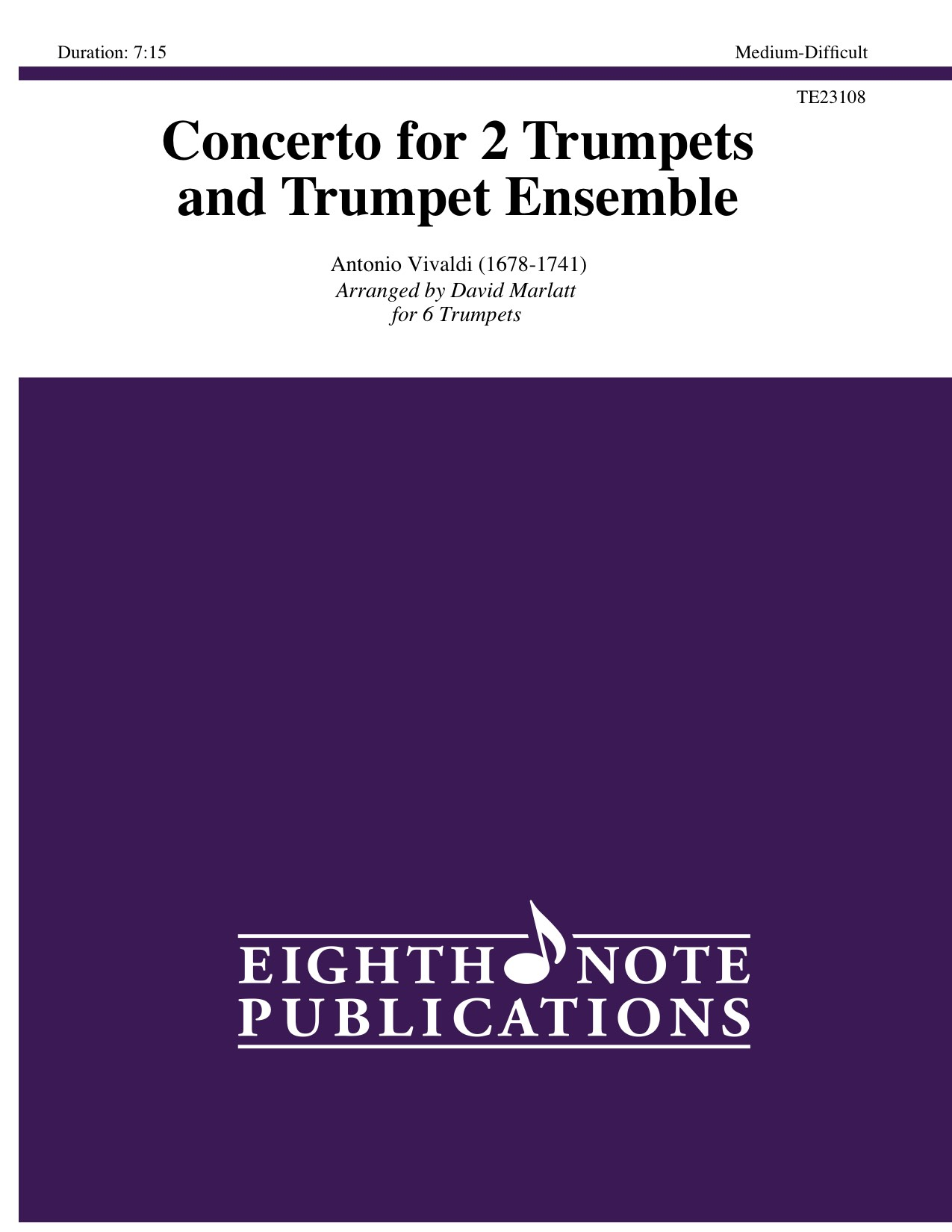 Concerto for 2 Trumpets and Trumpet Ensemble  - Antonio Vivaldi