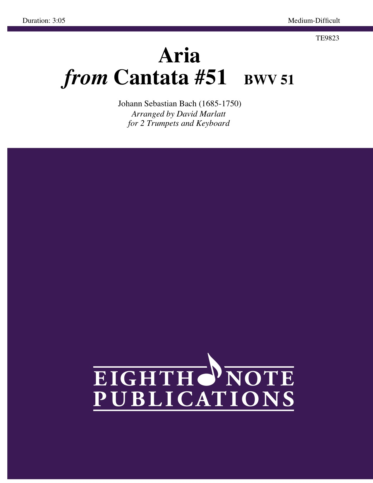 Aria from Cantata #51  BWV 51   - Johann Sebastian Bach