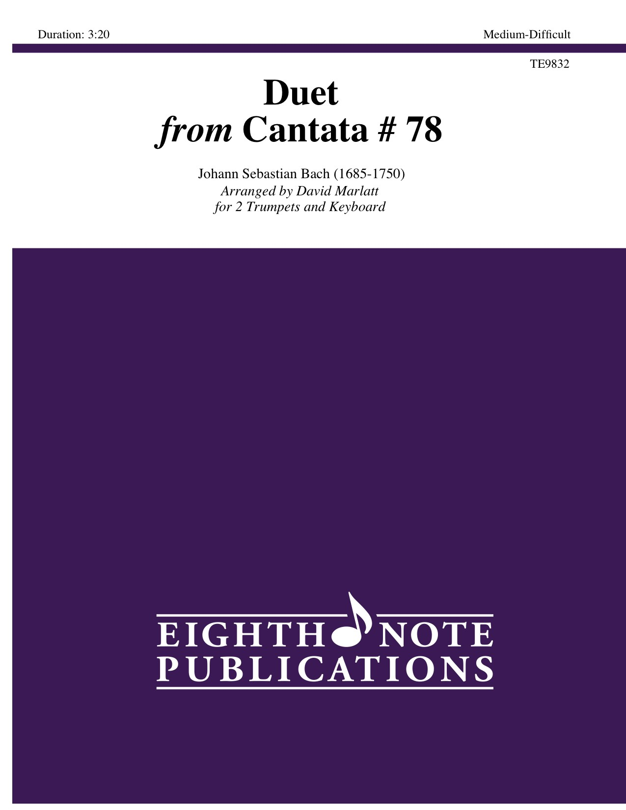Duet from Cantata 78  - Johann Sebastian Bach
