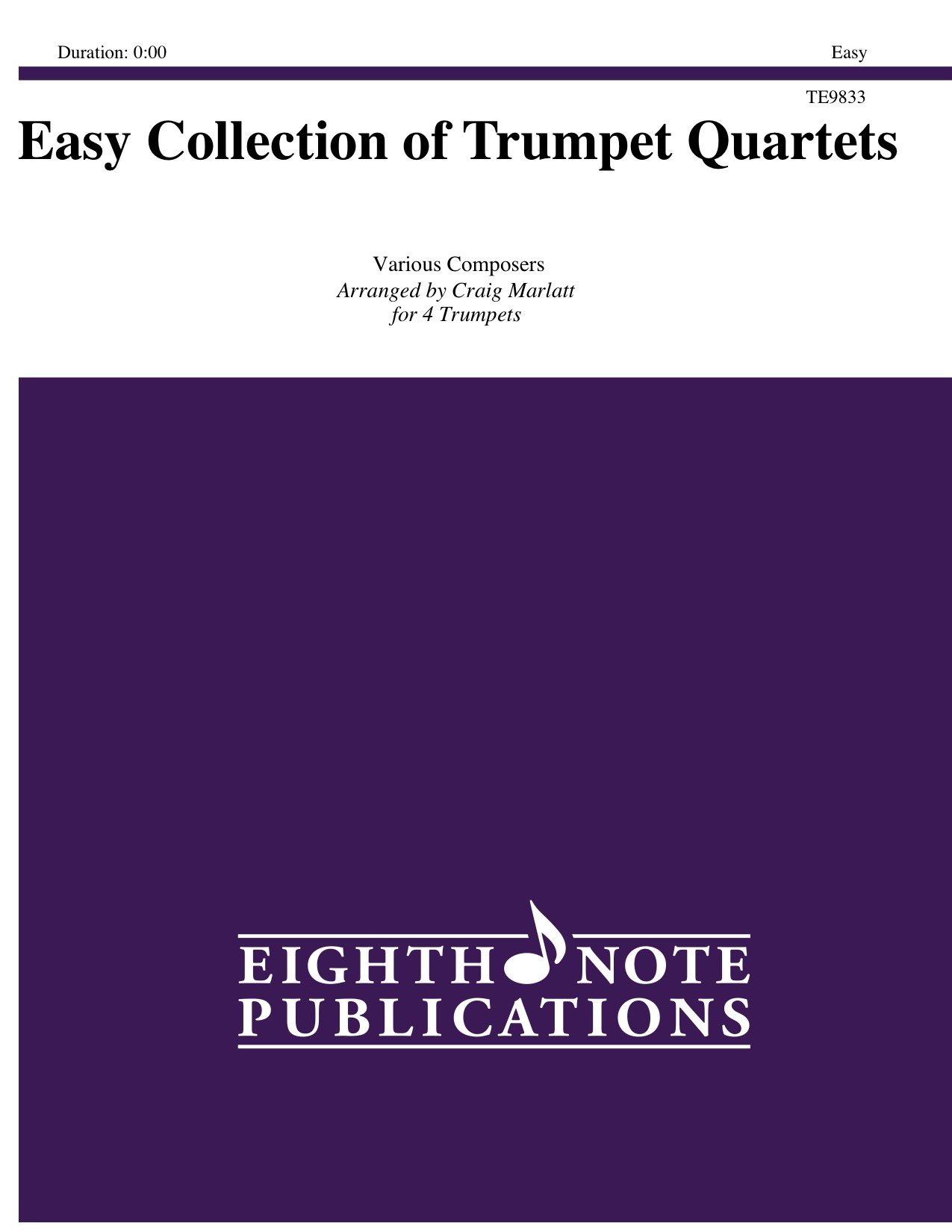 Easy Collection of Trumpet Quartets -  Various