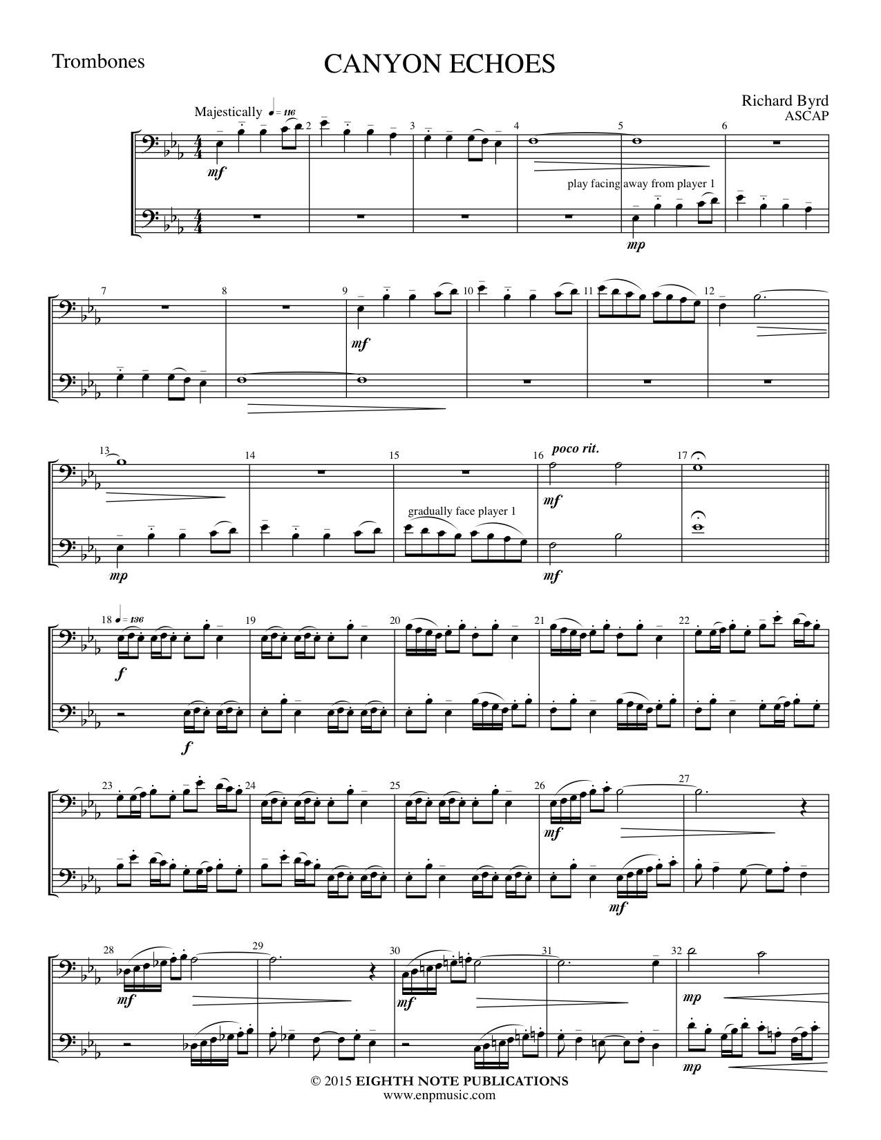 Canyon Echoes - William Byrd