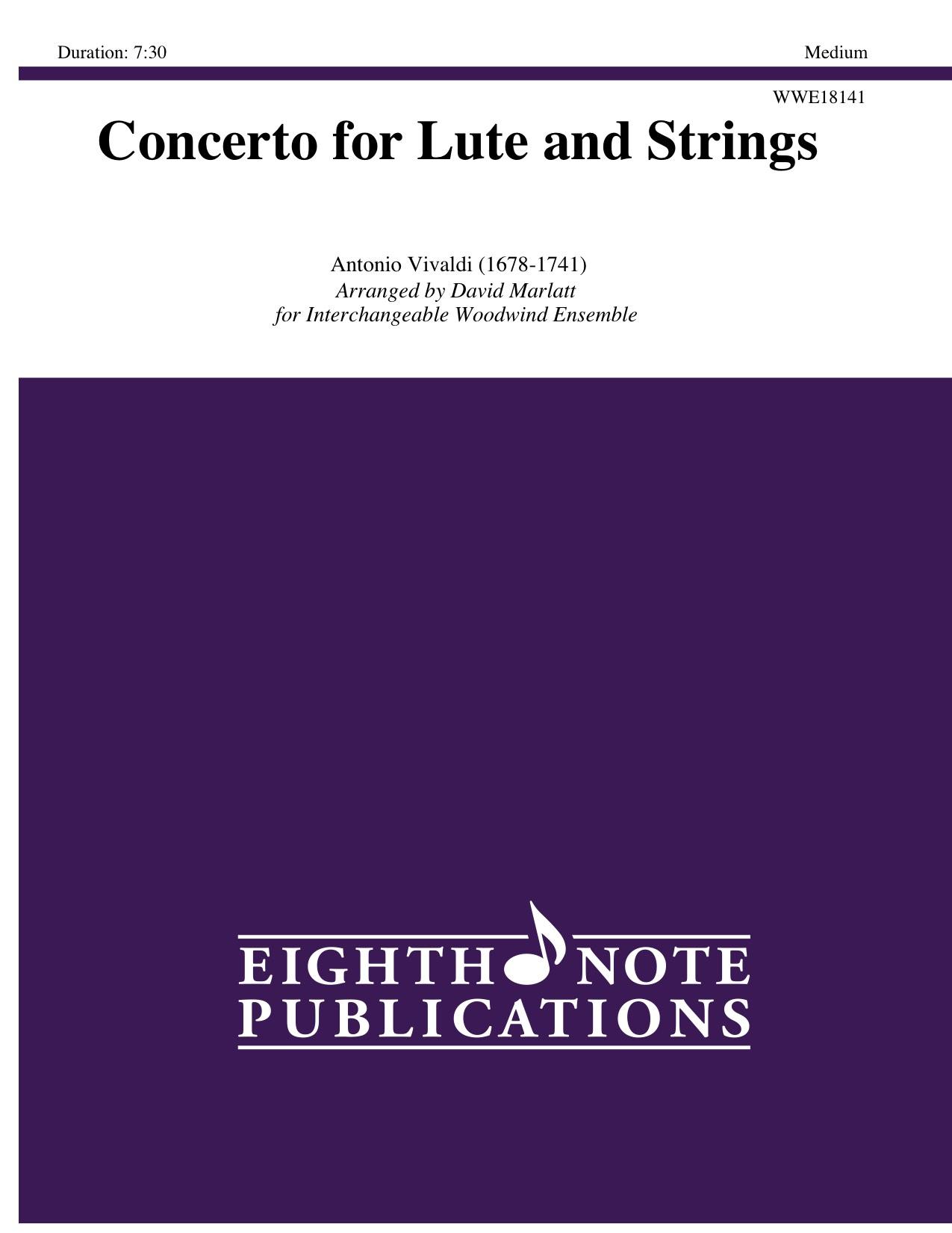 Concerto for Lute and Strings - Antonio Vivaldi