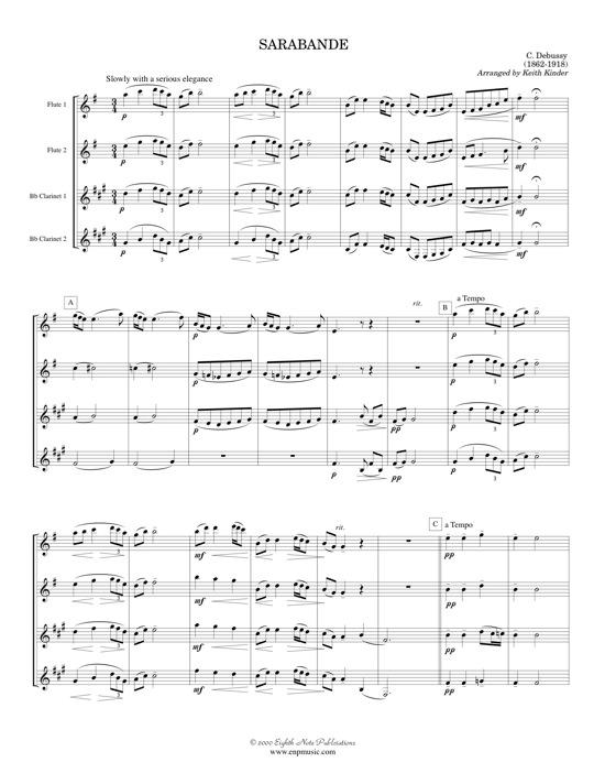 Sarabande  - Claude Debussy