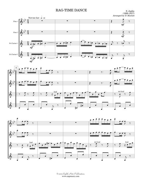 Rag-Time Dance   - Scott Joplin