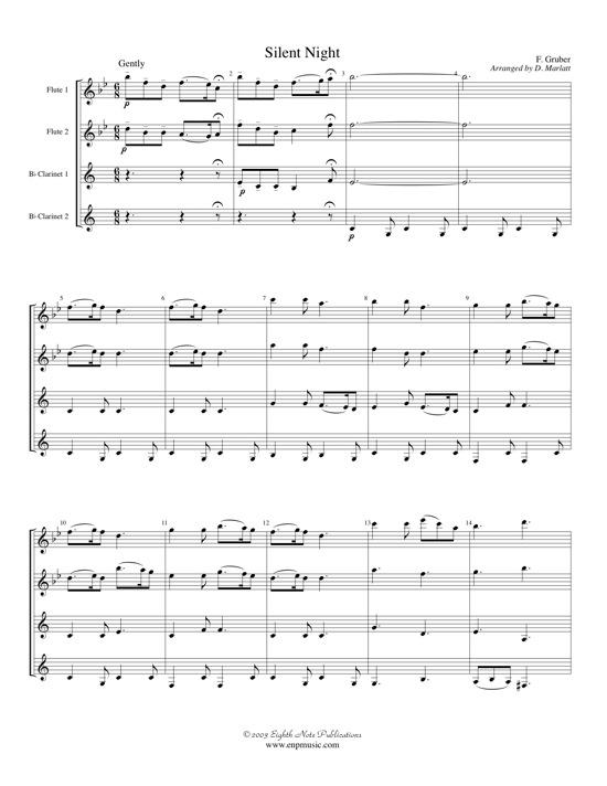 Silent Night   - Franz Gruber