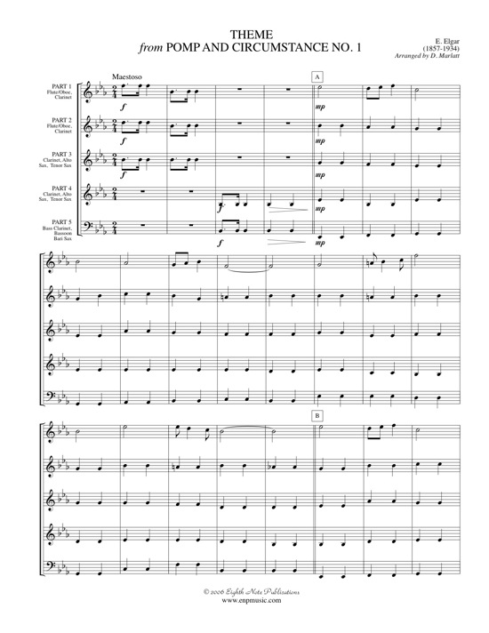 Theme from Pomp and Circumstance - Edward Elgar