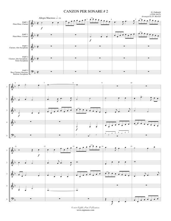 Canzon Per Sonare #2  - Giovanni Gabrieli