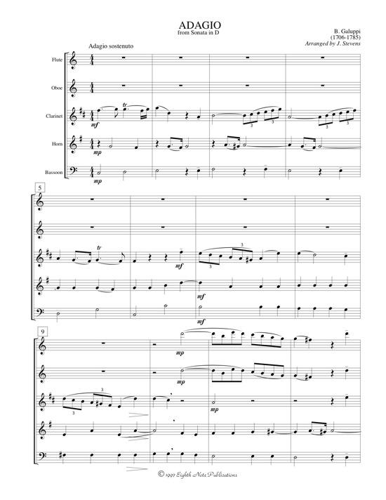 Adagio from Sonata in D - Baldassare Galuppi